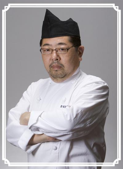 日本カレー機構 初代会長 田中 源吾